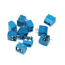 Screw Terminal Block Connector 2Pins 5mm Pitch