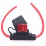 Fuse holder for car fuses