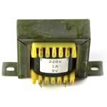 Conventional 230V transformer for 9V, 1A