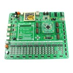 Development Board, EasyPIC Fusion V7, PIC32/33/24 & Dspic33 Support, On-Board Programmer/Debugger