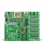 Development Kit, EasyPIC V7, Supports 370+ PIC MCUs in DIP Packaging, mikroProG Programmer