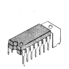 LA4160 INTEGRATED CIRCUIT DIP